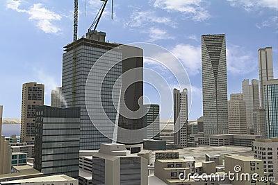Imaginary city 91