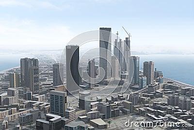 Imaginary city 93
