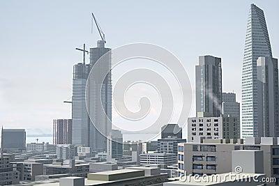 Imaginary city 96