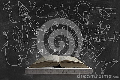 Imagination and book