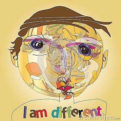 Free Imaginative Kid Portrait Stock Image - 27197571