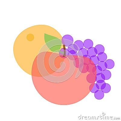 Imagine fruit illustration