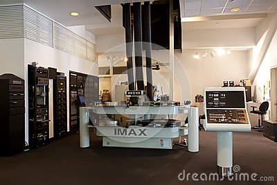 IMAX Film Projector Editorial Photography