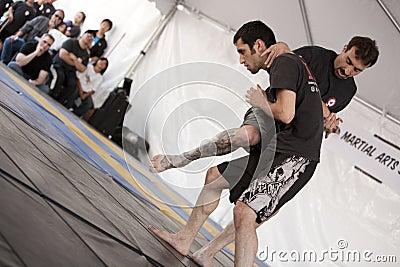IMB Mixed Martial Arts Knee Editorial Photography