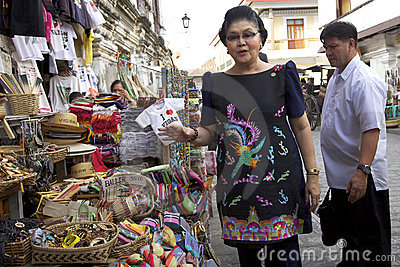 Imelda Marcos Editorial Photography