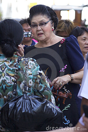 Imelda Marcos Editorial Stock Image