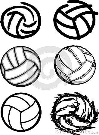 Imágenes de la bola del voleibol