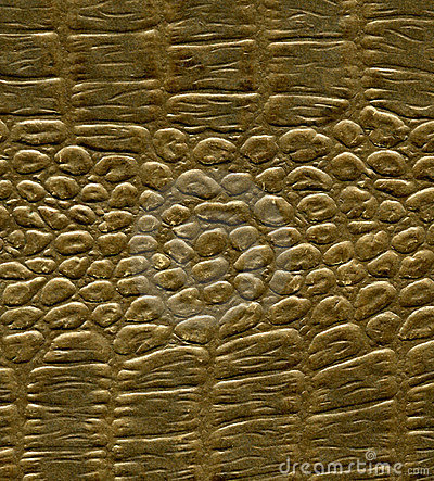 Imitation alligator skin pattern