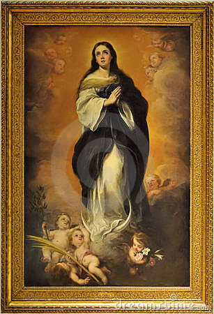 Free Immaculate Conception Stock Photography - 19493212