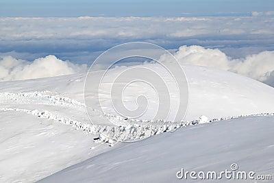 The immense white world of the Swiss Jungfraujoch