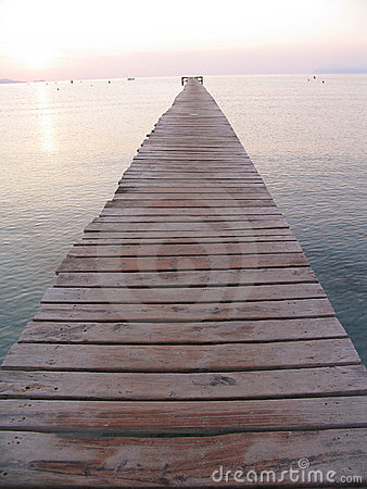 Immer währender Pier