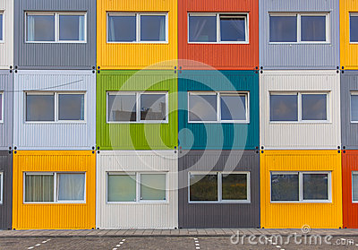 Immeuble color photo stock image 45124716 - Achat appartement amsterdam ...