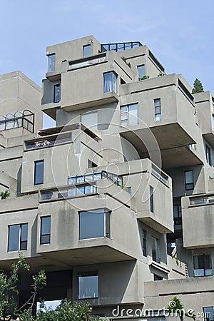 Immeuble modulaire photographie stock libre de droits for Architecture modulaire