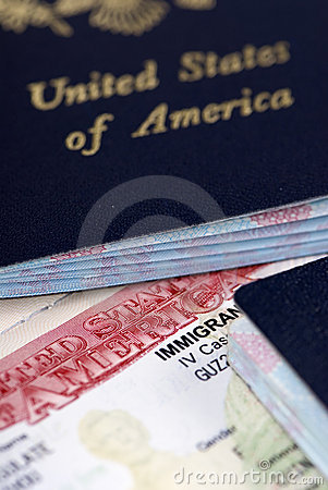 Free Immigrant Visa Royalty Free Stock Images - 1336539