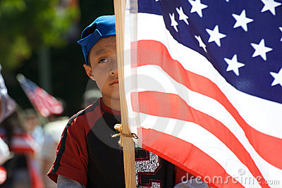 Immigration march Editorial Stock Photo
