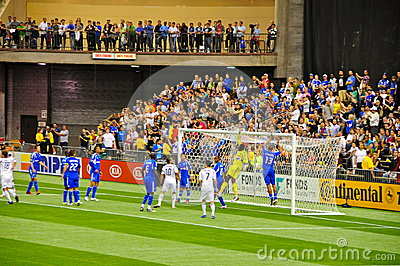 Impact Montreal vs Galaxy Los Angeles Editorial Photo