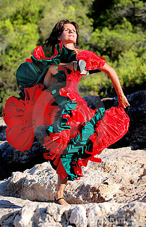 Impassioned Flamenco Dance 01