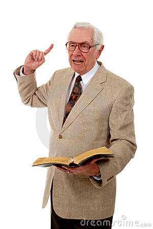 Free Impassioned Preacher Royalty Free Stock Image - 3686496