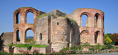 Imperial Baths,Kaiserthermen,Trier,Germany