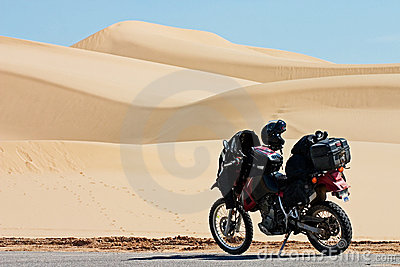 Imperial Dunes Motorcycle