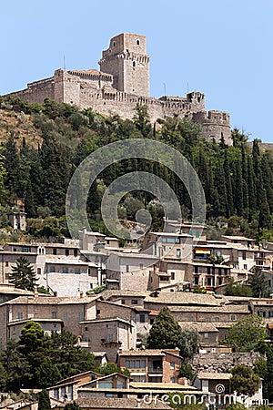 The imperial fortress Rocca Maggiore