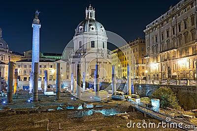 Imperial Forum in Rome