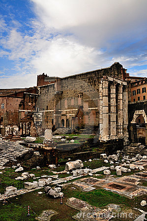 Imperial Forum, Rome, Italy