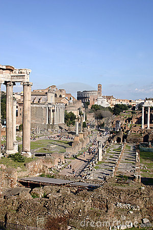 Free Imperial Forums In Rome Stock Photo - 18301110