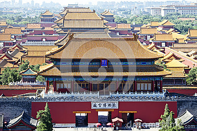 The Imperial Palace(Forbidden City)