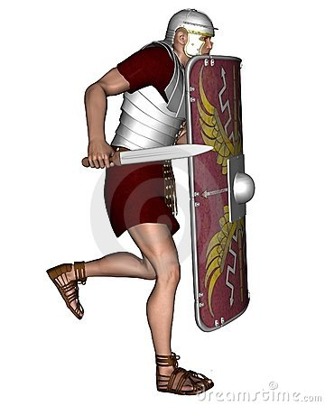 Imperial Roman Legionary Soldier - 2