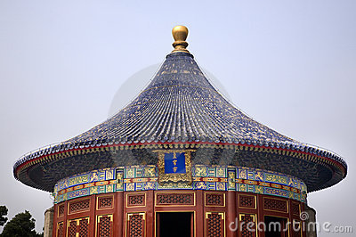 Imperial Vault Temple of Heaven Beijing China