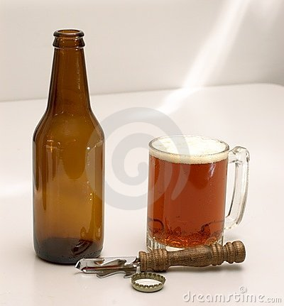 The implements of beer drinking