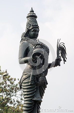Hindu Goddess statue, Hyderabad, India