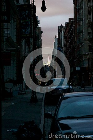Free Impressions From Blacked-Out Lower Manhattan Royalty Free Stock Image - 27459646