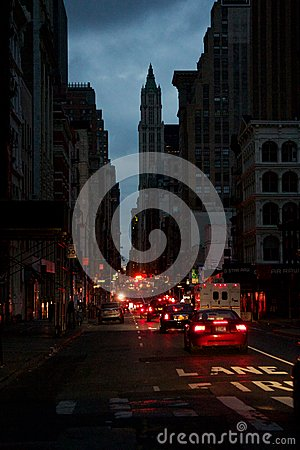 Free Impressions From Blacked-Out Lower Manhattan Stock Image - 27459661