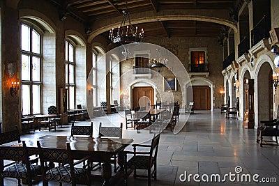 Impressive hotel dining room