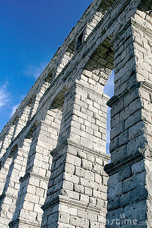 Impressive Segovia Aqueduct