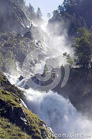 Free Impressive Waterfall, Norway. Stock Photography - 2994862