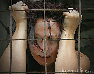 Imprisoned women