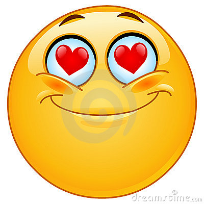 Free In Love Emoticon Stock Photography - 17770302