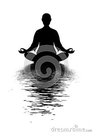 Free In Meditation Royalty Free Stock Photos - 50568718