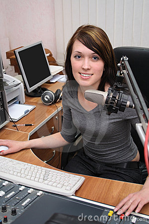 Free In Radio Studio Stock Images - 8314424