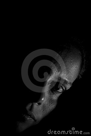 Free In The Shadows Royalty Free Stock Image - 22616916