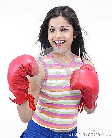 Inadina female boxer