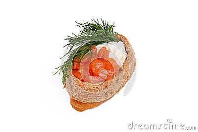 Inari with a salmon