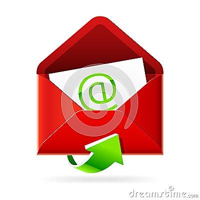 Inbox mails icon