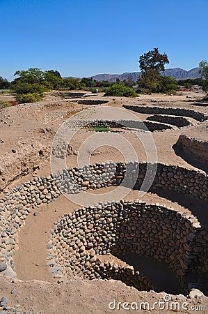 Inca aqueducts