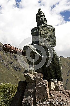 Inca King - Ollantaytambo - Peru