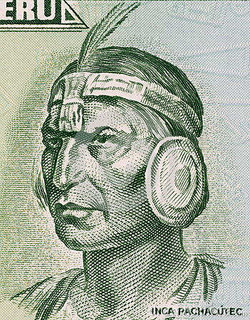 Inca Pachacutec Editorial Image