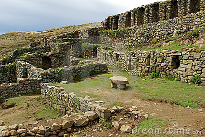 Inca Ruins, Bolivia Stock Photos - Image: 4719813